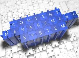 Three-D jigsaw puzzle of content management system