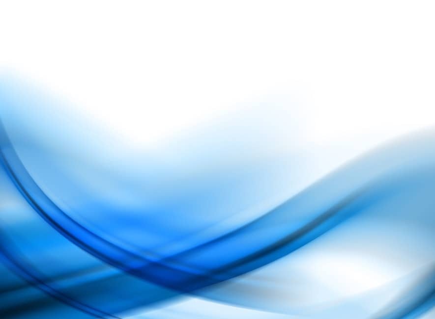 Abstract illustration showing flowing waves of blue